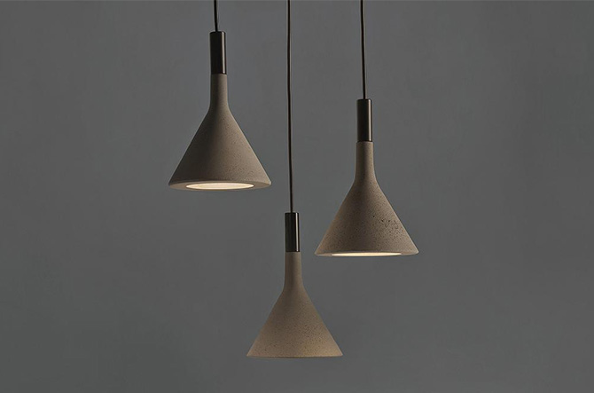 Aplomb Mini Pendant by Foscarini