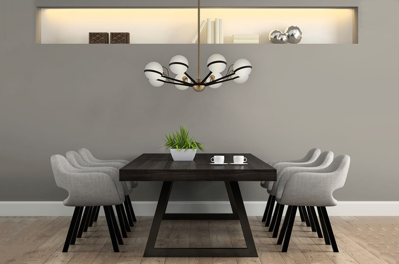 Ace Chandelier by Troy Lighting