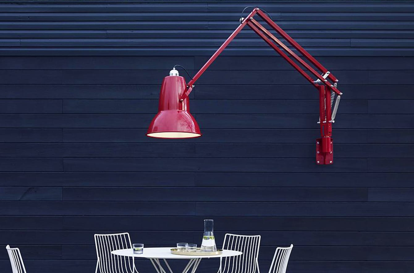 Now Original 1227 Giant Outdoor Wall Lamp By Anglepoise