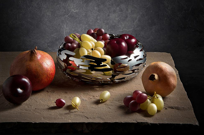 Mediterraneo Fruit Basket by Alessi.
