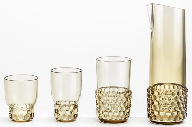 Jelly Glass Set of 4 by Kartell