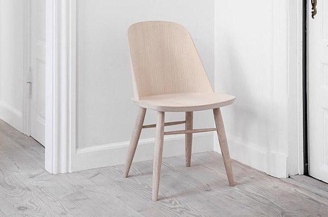 Synnes Chair by Menu