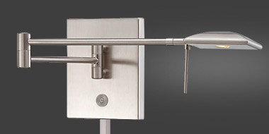 P4328 Swing Arm Wall Sconce By George Kovacs