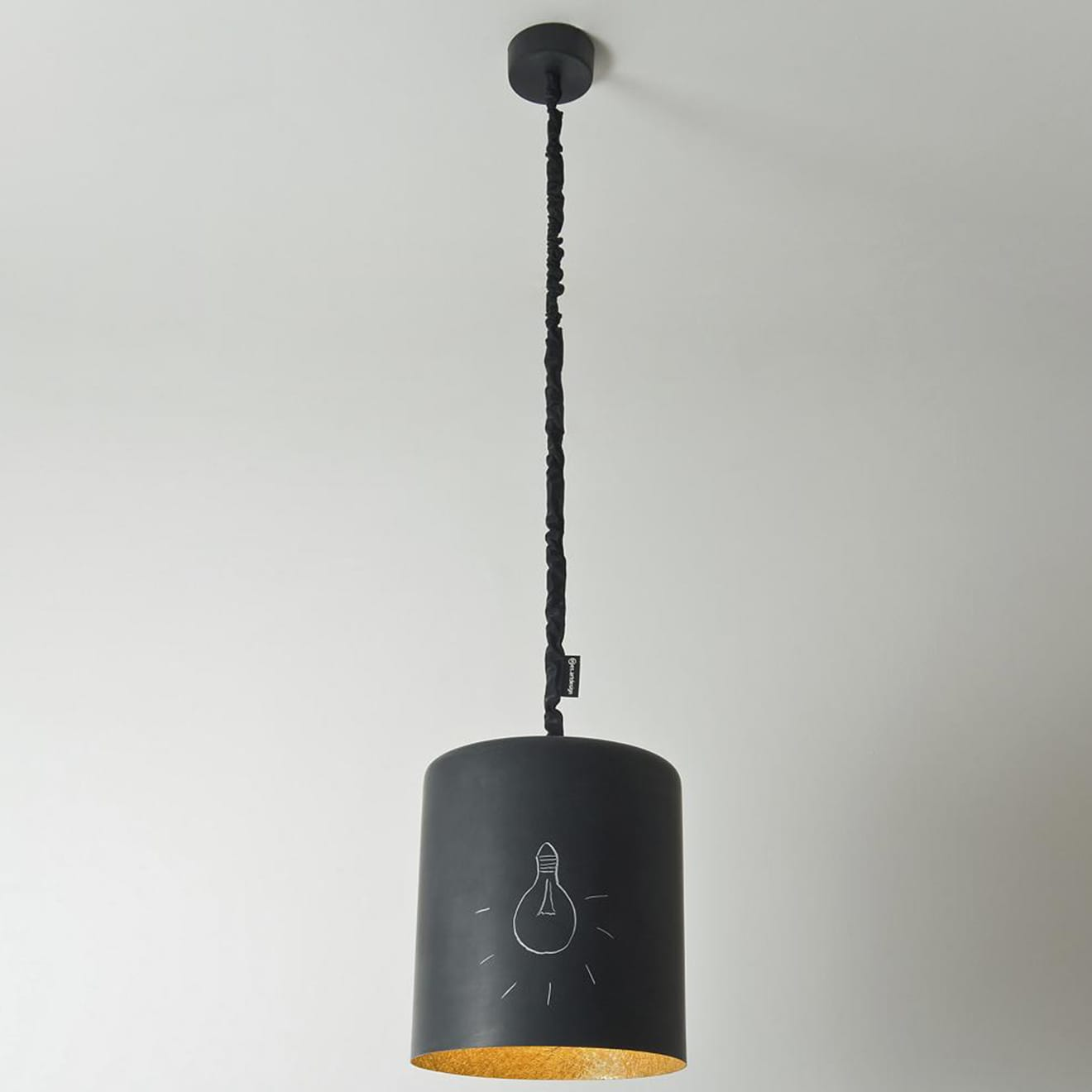 Bin Lavagna Pendant by In-Es Art Design