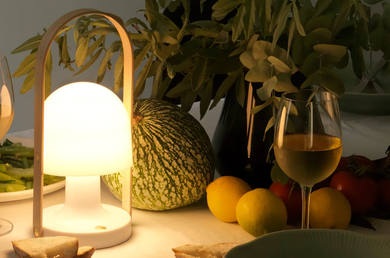 FollowMe Portable Table Lamp by Marset.