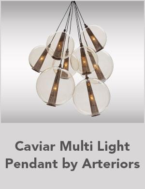 Caviar Multi Light Pendant by Arteriorsa