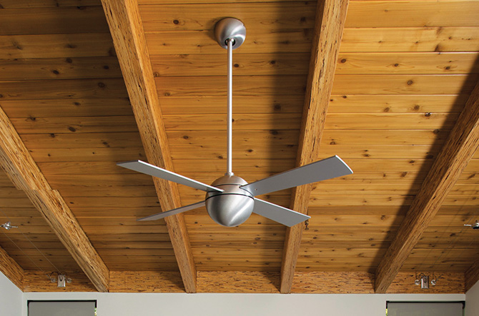 Best bets 13 modern ceiling fans at lumens shop now ball ceiling fan by modern fan company aloadofball Image collections