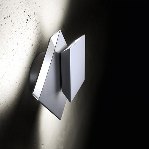 Cubic LED Wall Sconce by Holtkoetter