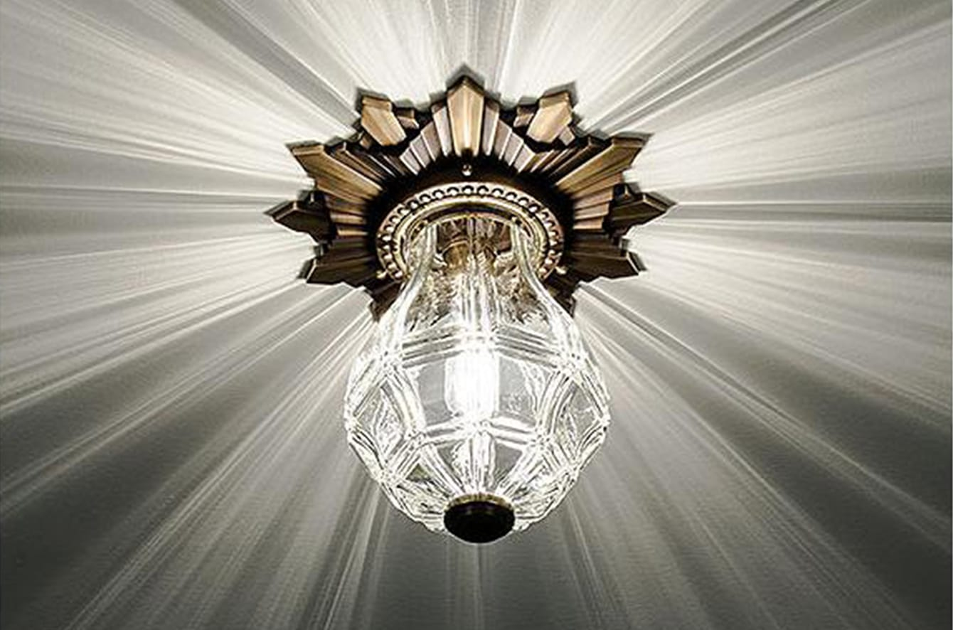 Opera House Flushmount by Boyd Lighting