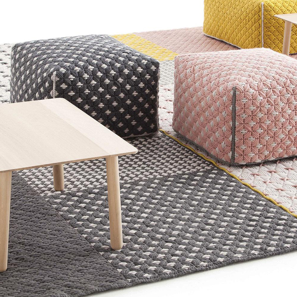Silai Space Collection by Charlotte Lancelot for Gan Rugs