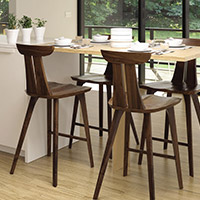 Dining Room Counter & Bar Stools