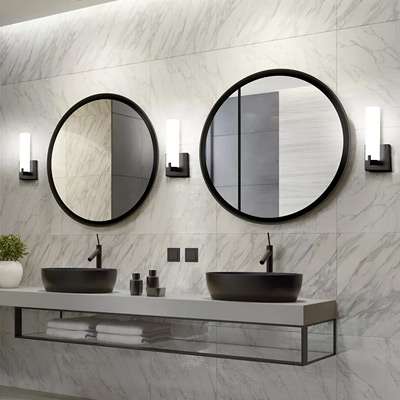 Bathroom Wall Sconces & Modern Bathroom Design - Lighting Furniture \u0026 Decor at Lumens.com