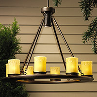 Outdoor Lighting Outdoor Chandeliers