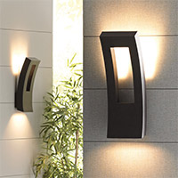 Wall sconces wall sconce lighting modern sconces at lumens outdoor wall sconces aloadofball Image collections
