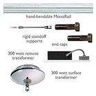 Tech Lighting Monorail Lighting Rails & Rail Kits