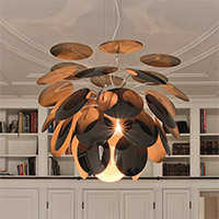Living Room Lighting Medium & Large Pendants