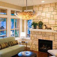 Living Room Bowl Pendants