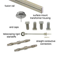 Monorail Lighting Rails & Rail Kits
