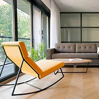 Living Room Rockers & Swivel Chairs