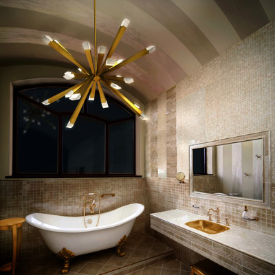 Bathroom Lighting Chandeliers