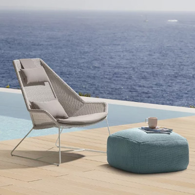 Outdoor Living Lounge Chairs