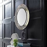 Living Room Home Furnishings Wall Decor & Mirrors