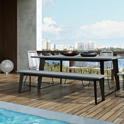 Outdoor Lounging Furniture Benches