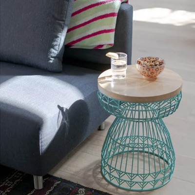 Outdoor Furniture Ottomans & Occasional Side Tables