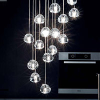 Kitchen Lighting Multi-Light Pendants