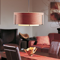 Dining Room Drum Pendants