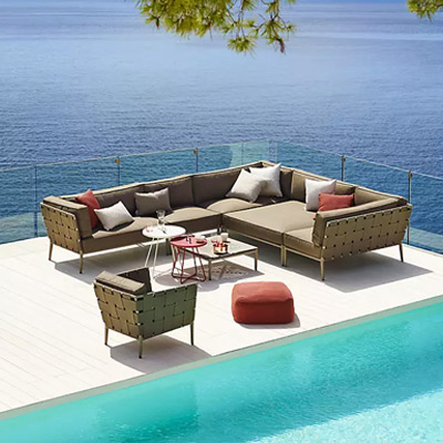 Outdoor Lounging Furniture Sofas