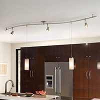 Kitchen Track & Monorail Lighting
