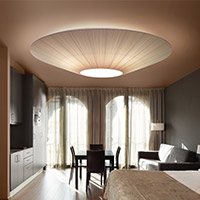 Bedroom Lighting Flush & Semi-Flushmounts