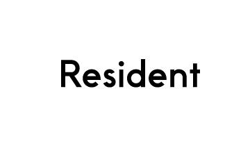 Resident.