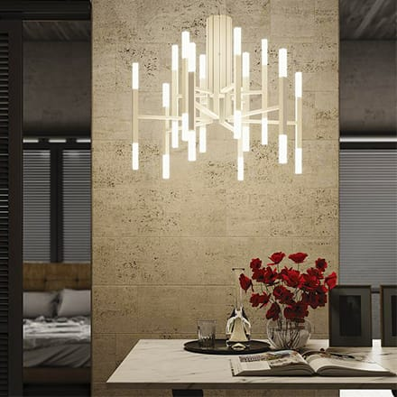 Chandeliers & Linear Suspension